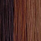 Medium Dark Brown mixed with Honey Blonde and Light Auburn