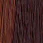 Alternate strands of Medium Chestnut Brown and Light Auburn
