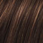 Medium Dark Brown & Light Auburn