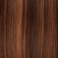 Piano blend of Medium Dark Brown and Light Auburn