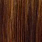 Piano blend of Medium Dark Brown, Dark Auburn, and Gold