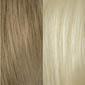 Golden Blonde with White Blonde highlights
