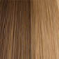 Medium Golden Brown blended with Dark Ash Blonde