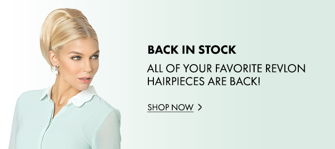 Revlon Hairpieces in Stock