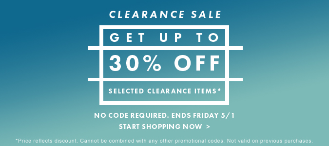 Clearance 30 Off